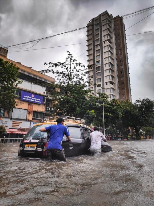 Disastermanagement of floods